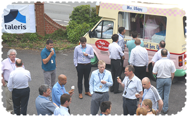 Hire an ice cream van for corporate use
