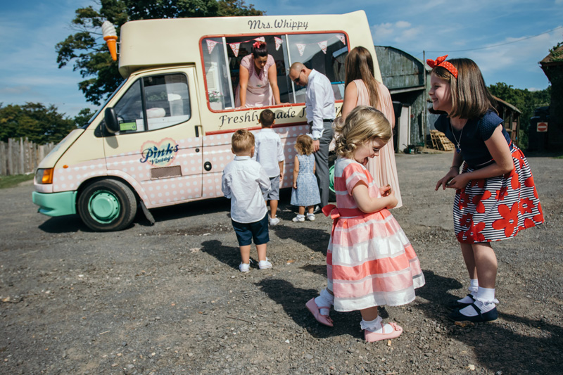 Pinks Vintage Ice Cream Vans