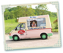 Patsy our vintage ice cream van for hire