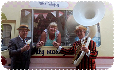 Mr Whippy ice cream van hire from Pinks Vintage