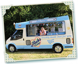 Terence The Vintage Ice Cream van for Hire